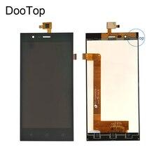 สำหรับ Highscreen Boost 3 Pro Boost 3 SE Boost 3 SE Pro Boost 3 จอแสดงผล LCD + หน้าจอสัมผัส Digitizer สีดำ 3 M สติกเกอร์