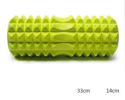33cm Relax Muscles Body Back Massage Foam Roller tool Massage Block Floating Point Pilate Column Physio Yoga Massage Pilates 2015 yoga block eva foam roller the set of foam roller a small and large relax column 4colors gym fitness sporting equipment