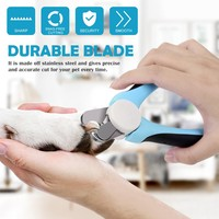 High Quality Professional Stainless Steel Pet Grooming Accessories Toe Care Tools Pet Claw Sciccors Big Size