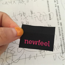 Customized High Density Clothing Name Label Clothing Label Woven Label customized brand woven label high density
