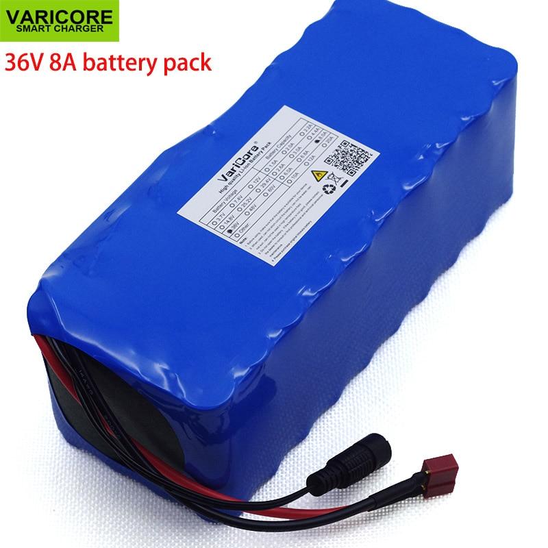 VariCore 36 v 500 watt 8Ah 10S4P 18650 Oplaadbare batterij, gemodificeerde Fietsen, elektrische voertuig 36 v Bescherming met BMS-in Batterij pack van Consumentenelektronica op  Groep 1