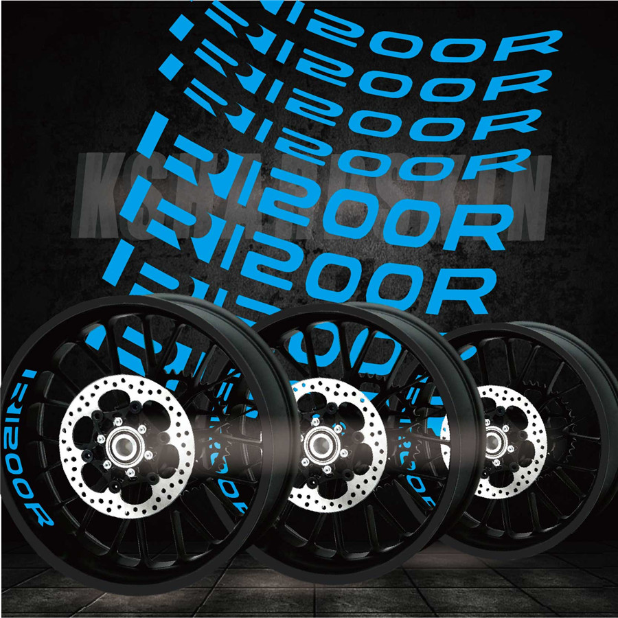 New Motorcycle Outer Ring Personality Creative Car Stickers Reflective Accessories Decorative Stickers For BMW R1200r
