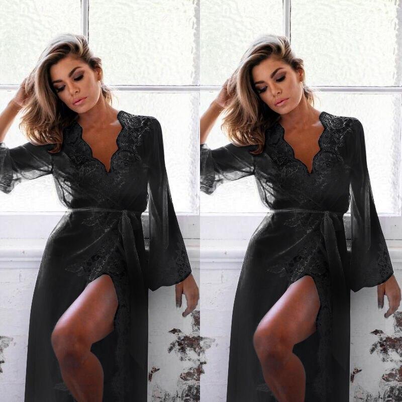 2018 Womens Sexy Lingerie Nightwear Sleepwear Babydoll Lace Underwear G-string Dress