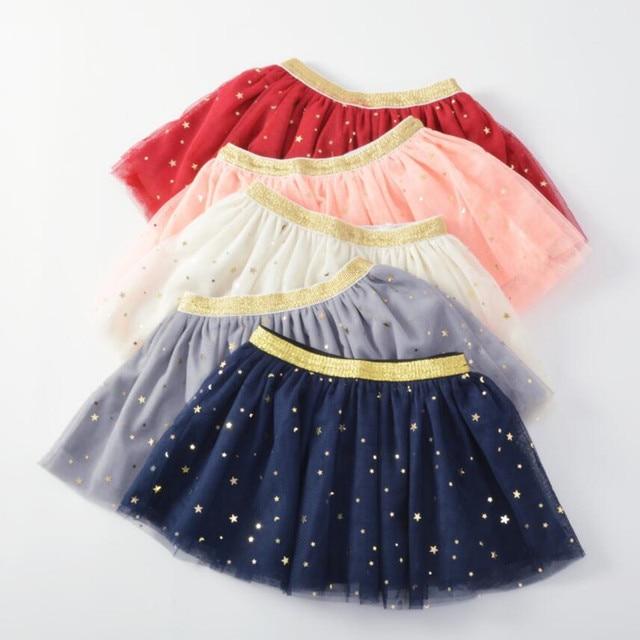 Baby Girl's Skirt with Glitter Stars 1