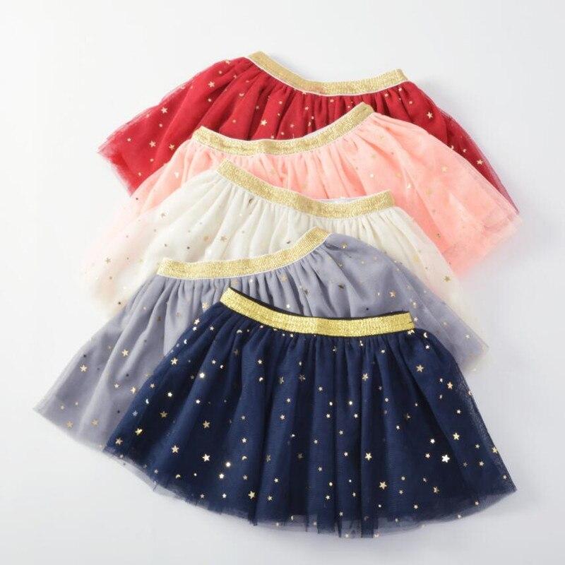 Neue Kinder Baby Mädchen Röcke Sterne Glitter Ballkleid Prinzessin Dance Ballett Pailletten Mädchen tutu Rock Kleinkind Pettiskirt Kleidung A318