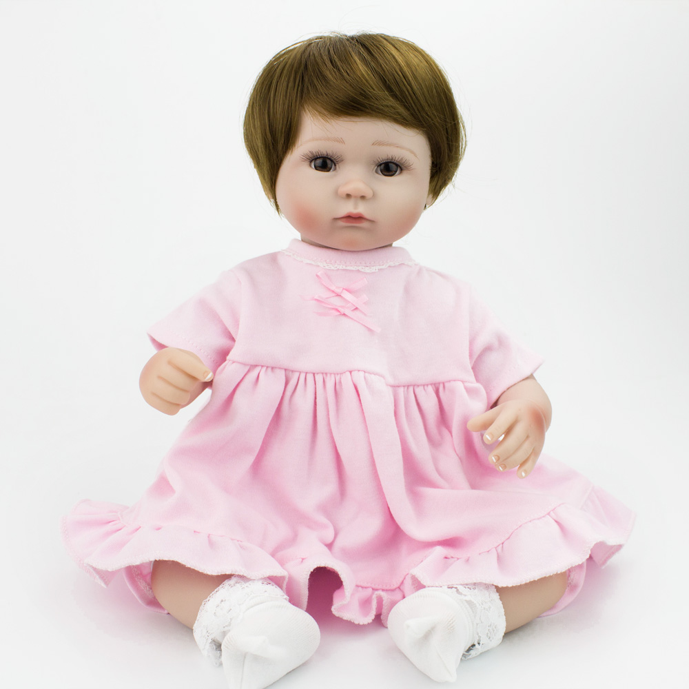 Npkdoll 10 Baby Reborn With Silicone Body Little Doll Childrens Toys For Girls Education Princess Doll Birthday Child Girl Dolls & Stuffed Toys