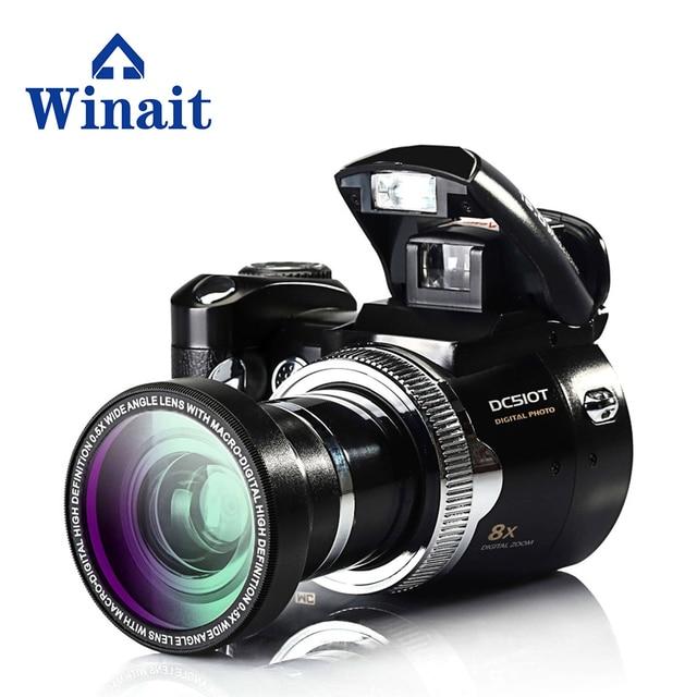 Flash Sale cheap new digital camera SD card 8x digital zoom 16MP dslr camera with 2.4 Inch TFT LCD Display DC-510T Self-Timer video camera