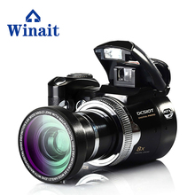 cheap new digital camera SD card 8x digital zoom 16MP dslr camera with 2.4 Inch TFT LCD Display DC-510T Self-Timer video camera