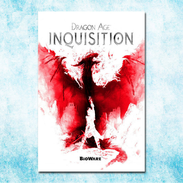 Dragon Age 3 Inquisition Hot Art Silk Canvas Poster Print 13x20 24x36inch Wall Pictures For Living Room Decor More