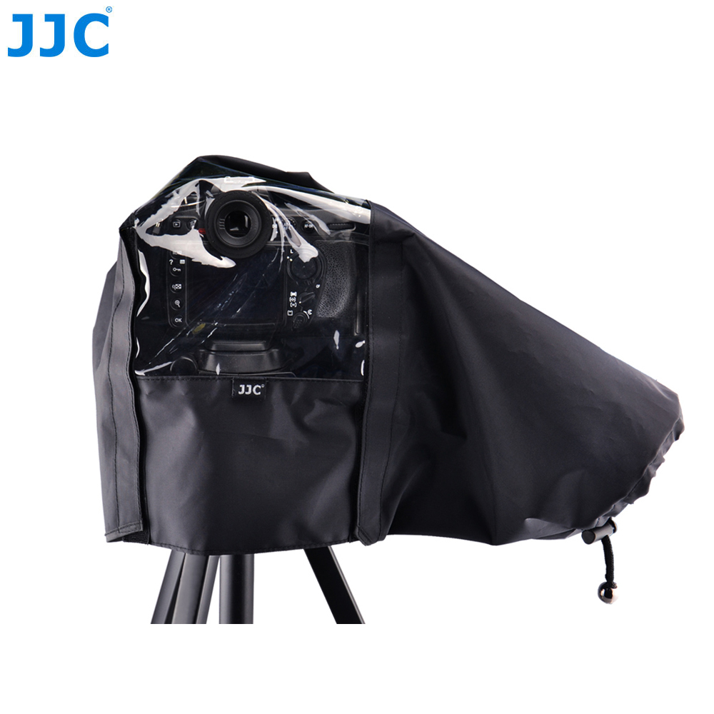 JJC DSLR Rain Cover Waterproof Protector Raincoat for Canon EOS 1Ds Mark III/1D Mark IV/5D Mark III/7D MARK II Camera with Eg remote switch trigger for canon eos 1d mark ii 1ds mark ii n more