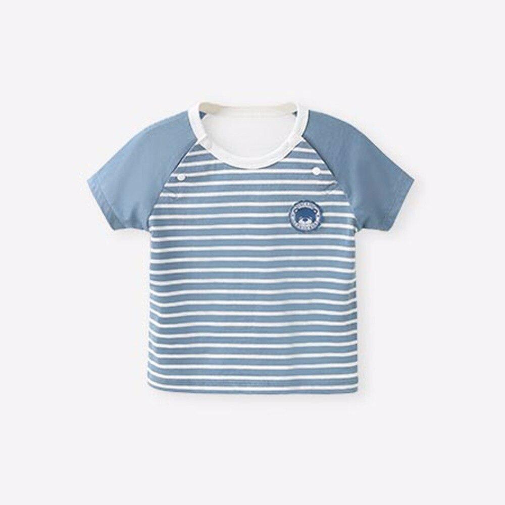 COBROO Baby-streepjes-tops met O-hals korte mouwen Unisex-baby - Babykleding - Foto 2