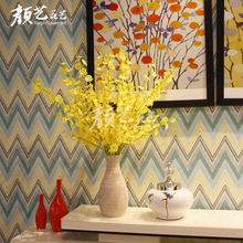 6 Pcs Artificial Silk Dancing Orchid Flowers Indoor and Outdoor Fake Butterfly for Festival Holiday Home Decor