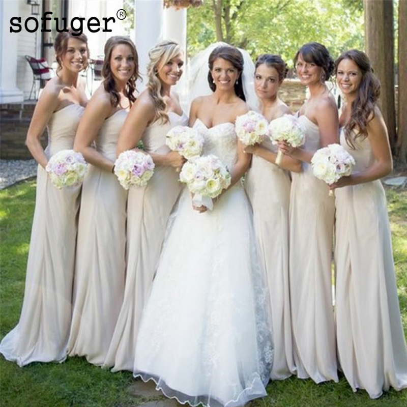 Ivory Sexy Sweetheart Special Occasion   Dress   Pleat   Bridesmaid     Dresses   Strapless Wedding Party   Dresses   Formal