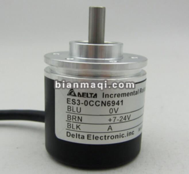 ES3-0CCN6941 Delta photoelectric encoder / shaft diameter 6mm / 360 line new bes50 08s6h 360 rotary encoder shaft diameter 50mm outer diameter 8mm 360 line