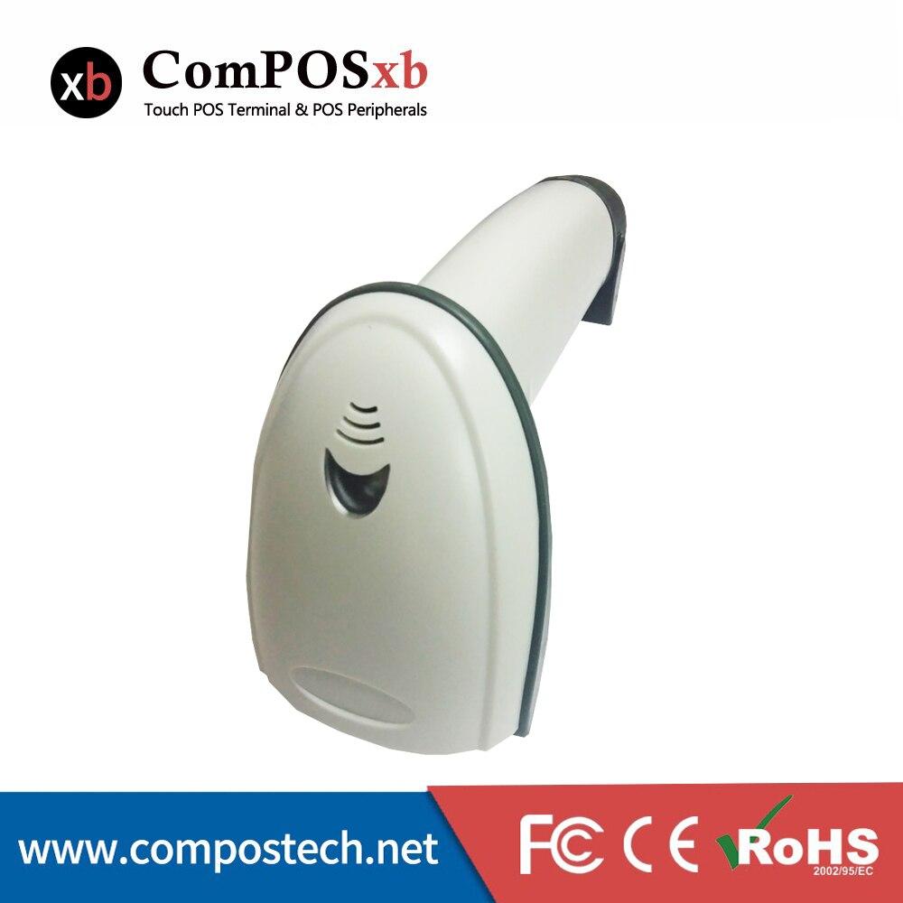 Супермаркет 1D Ручной USB Оконные рамы сканер штрихкодов 1D Handfree лазерный сканер штрих-кода