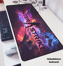olwonow cs go mouse pads 70x30cm to mouse notbook computer locked edge gaming
