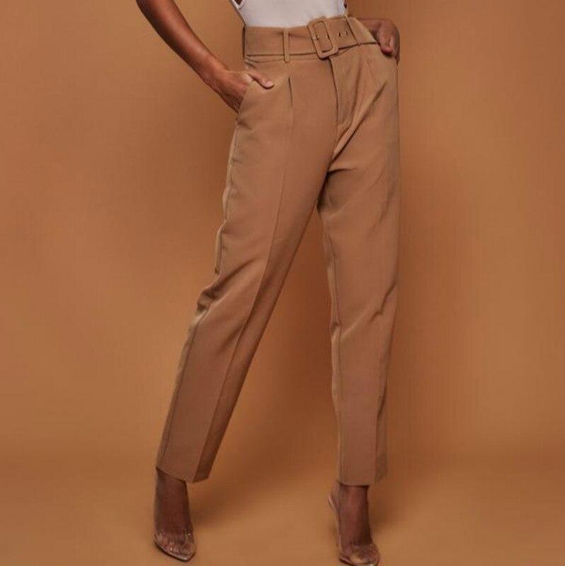 ea18c48e5 Comprar Verano Playa Casual Volantes Pantalones De Cintura Alta ...