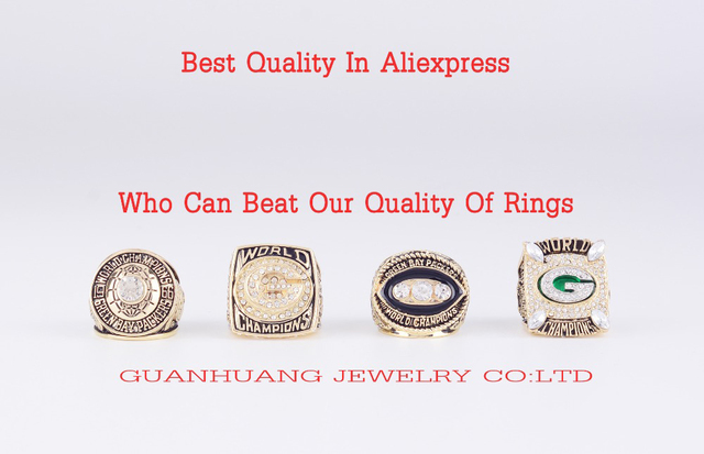 Who Can Beat Our Rings,  High Quality 4 Years Sets Green Bay Packers Championship Rings
