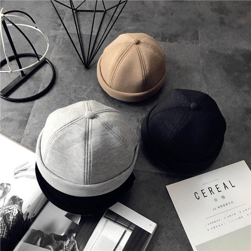 bc652f3600b1e Womens Beanie Hats Korean Skullcap Brimless 2018 New Women Hats for Man  Hats Women 2018 Winter Beanie Head Cap for Ladies