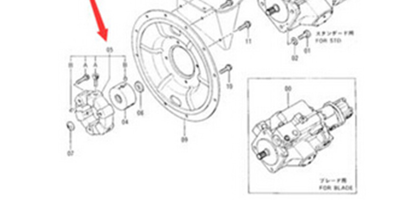 New Hydraulic Pump Coupling 4275308 for Hitachi Excavator
