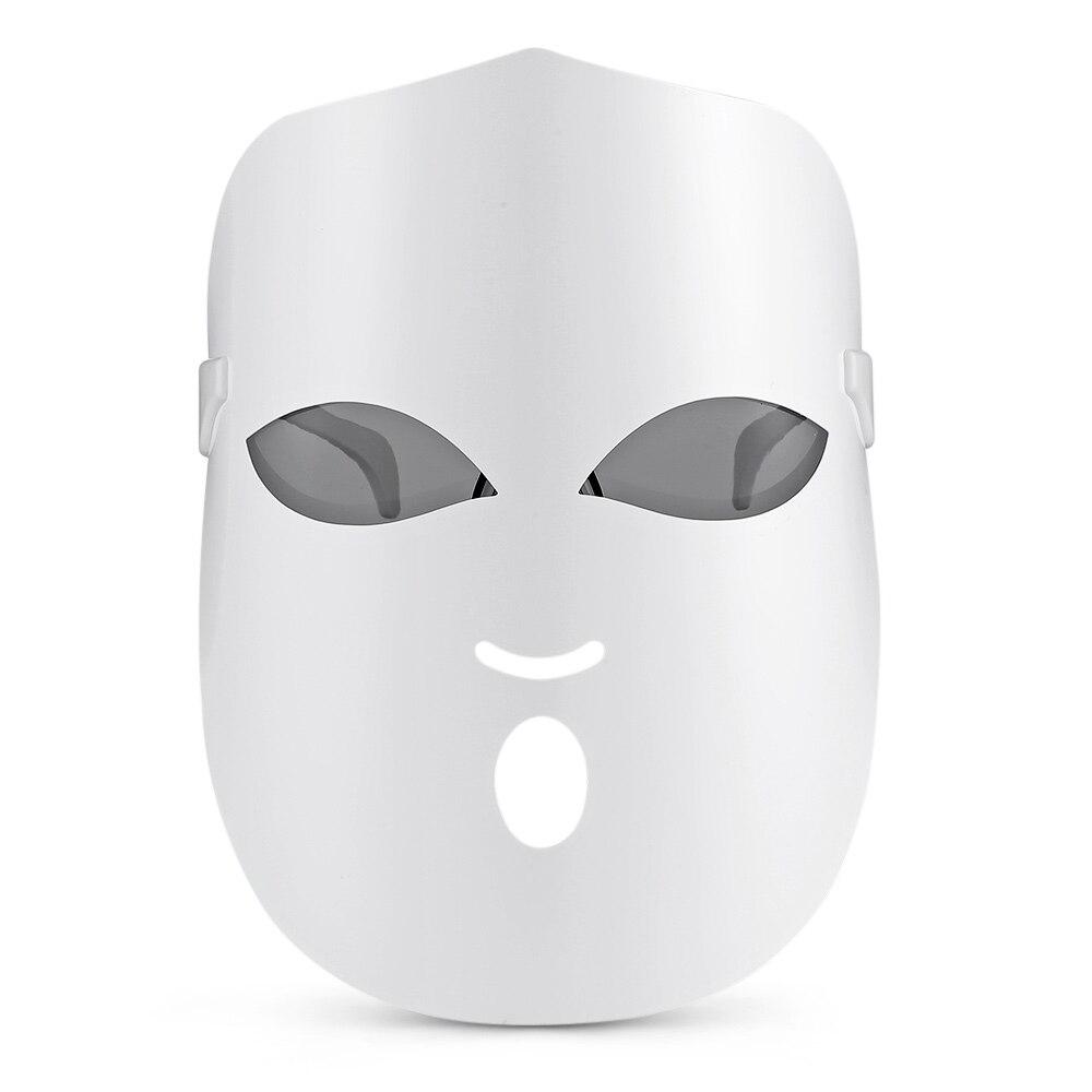 Deciniee 3 lumières Led thérapie masque lumière visage masque thérapie Led photon masque Facial coréen soins de la peau masque Led thérapie USB Charge