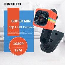 Portable SQ11 SQ8 HD 1080P Car Home CMOS Sensor Night Vision Camcorder