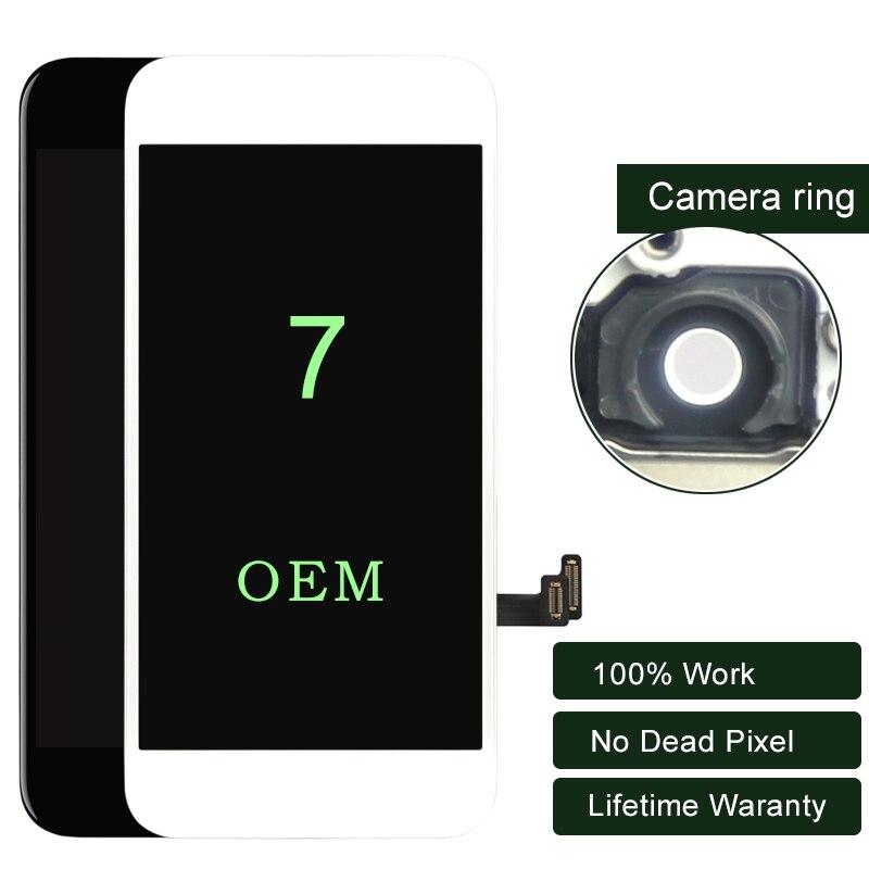 Premium 3 pièces pour iphone 7 LCD écran OEM affichage avec 3D tactile pour iphone écran 7G numériseur assemblée téléphone portable LCD 5.5 pouces