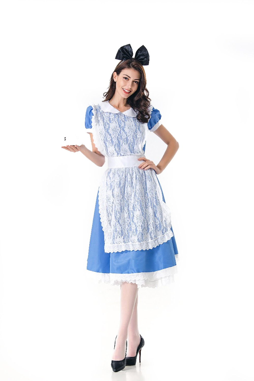 Alice in wonderland cosplay dress