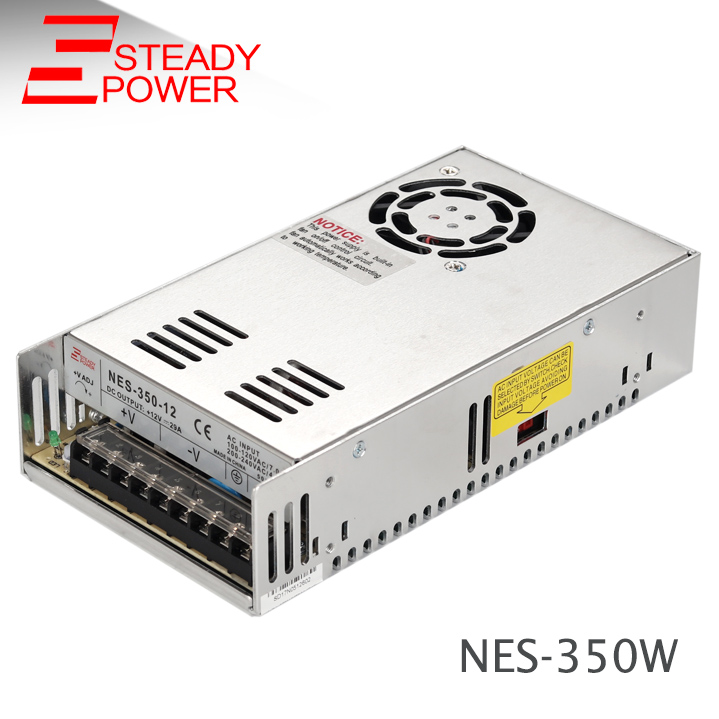 NES-350-24 350w switching power supply 24 volt 14.6a led light driver 350 w 24v ac dc power transformer laser cutting marking engraving machine diy parts meanwell mw nes 350 24 350w 24v power supply switching switch power supply