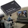 2016 NEW HDMI 5Port 4K*2K 3D Switch Selector Switcher Splitter Hub 1080p For PS3 HDTV In stock!