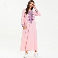 Kaftan Abaya Turkey Islamic Arabic Muslim Dress Jilbab Caftan Tesettur Elbise Ramadan Robe Femme Musulman Hijab Dresses Vestido