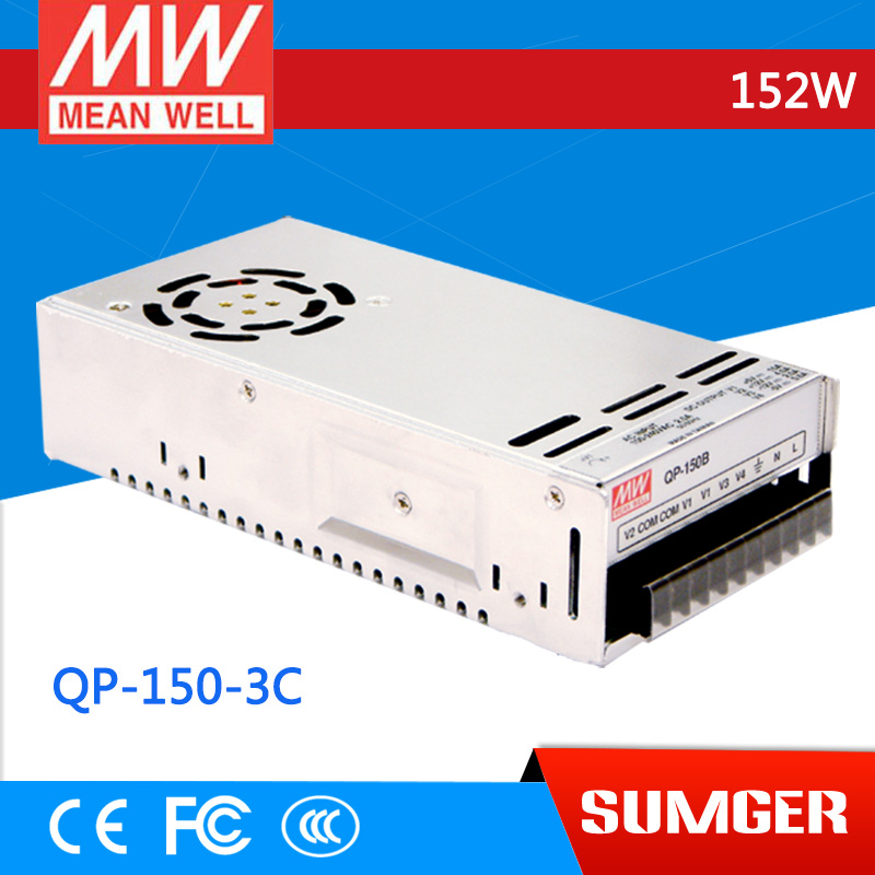 все цены на  1MEAN WELL original QP-150-3C meanwell QP-150-3 152W Quad Output with PFC Function Power Supply  онлайн