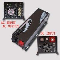 Горячая Распродажа хорошее качество DC48V AC220V 4000 Вт Чистая синусоида с встроенное зарядное устройство частоты инвертерный кондиционер инвер
