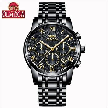 Men Watches New 2019 Top Brand Luxury Waterproof Quartz Wrist Watch Chronograph Relogio Masculino Waterproof Military Watches