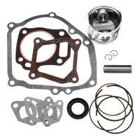 Rebuild Kit With Piston Ring And Engine Gasket Kit For Honda GX160 GX200 5 5 6