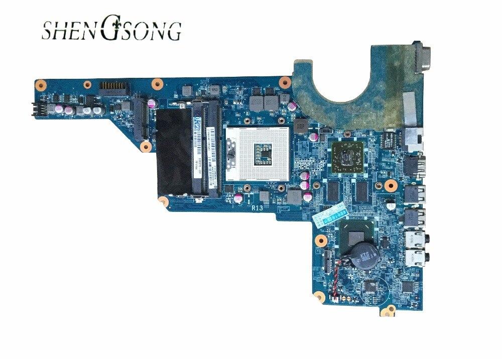 Бесплатная доставка Материнская плата для ноутбука hp G4-1000 G6 G7 650198-001 DA0R13MB6E0 REV: E hm65 6470/512 М 100% полностью протестирована