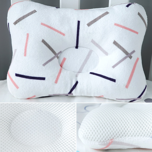 Muslinlife 1Pcs Bedding Baby Kids Pillow Anti Roll Sleeping Pillow Neck Head Baby Pillow Multifunctional Dropship 5
