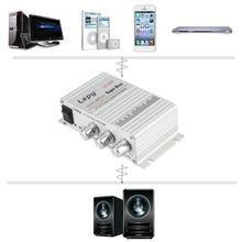 Nueva 12 V Altavoz de Graves de Altavoz Hi-Fi Amplificador de Audio Estéreo de Alta Fidelidad En Casa con Puerto USB FM para Coche Auto Mini MP3 MP4 PC Radio