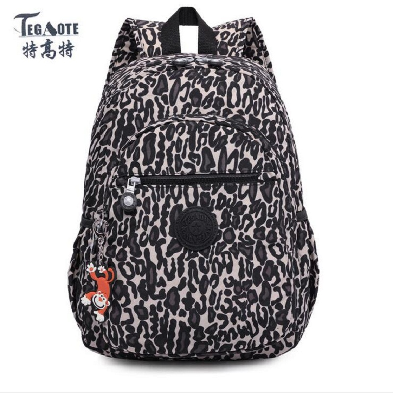 TEGAOTE Floral Mini Small Backpack for Teenage Girls Feminine Backpack Casual Kipled Nylon Backpacks Women Bagpack Sac A Dos bag