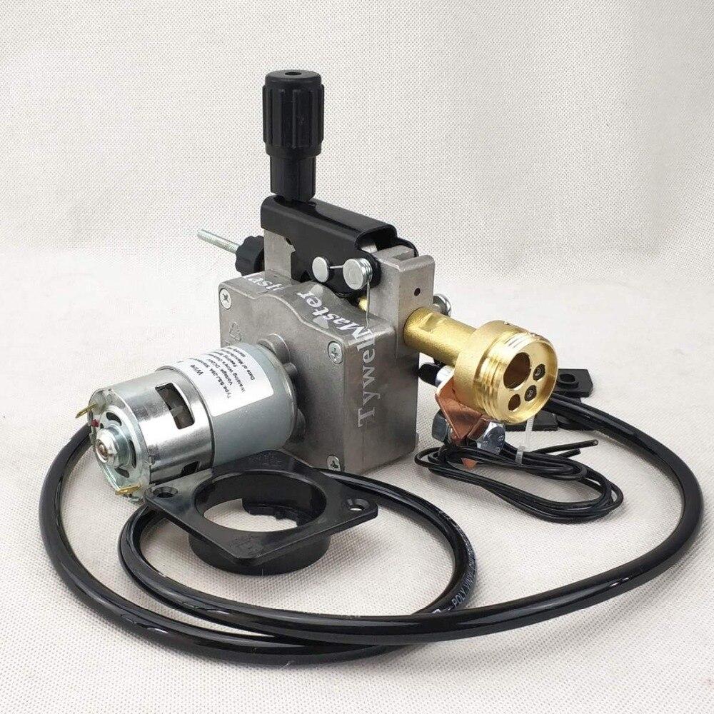 Motor alimentador de alambre MIG-160 de SSJ-29A DC24V, 0,8-1,0mm para máquina de soldadura