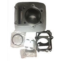 2018 Knight For Suzuki GN250 Upgrade to 300cc GN300 Big Bore Cylinder Piston Rings Clips Kit 78mm With Piston And 18MM Pin