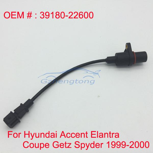 Posición del cigüeñal sensor para hyundai accent/elantra sedán/kia/matrix/coupe/getz/maserati spyder gt convertible 39180-22600