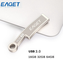 EAGET K60 USB 3.0 Flash Drive 16GB 32GB 64GB Pen Drive Fashion Knife Ancient Knife Metal Waterproof Gift Memory Stick Pendrive