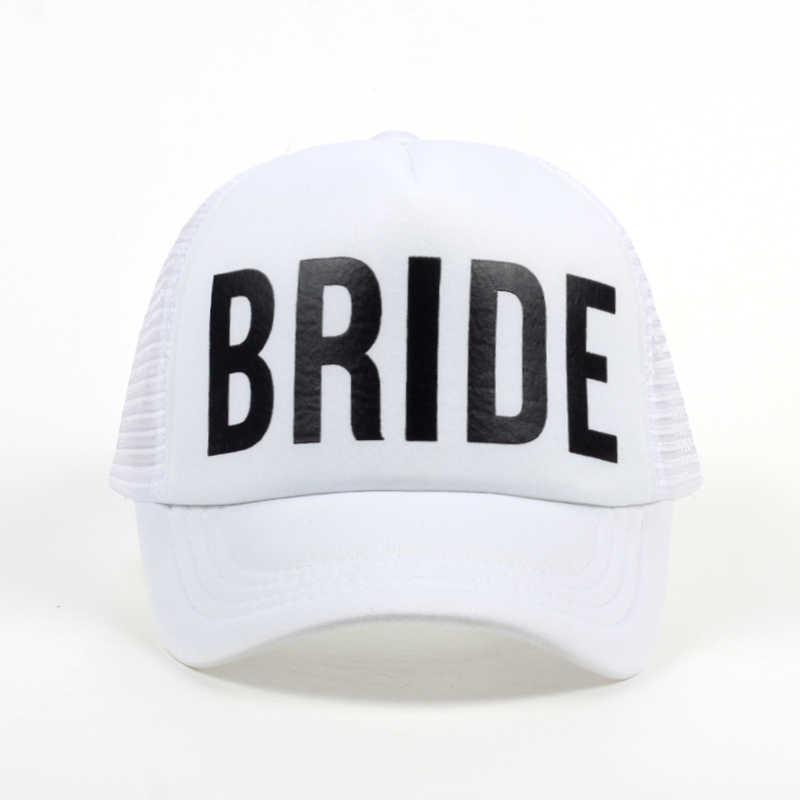 82f0a7af Top selling BRIDE printing baseball cap for wedding party TEAM BRIDE  snapback hat for women female casual hats wholesale