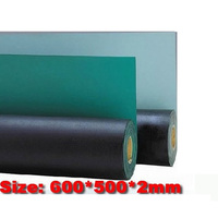 Free Ship 600 500 2mm ESD Mat Anti Static Mat Antistatic Blanket ESD Table Mat For