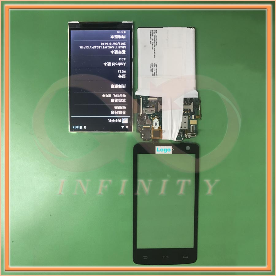 In Stock 100 Tested NEW Original For Philips Xenium W732 Touch Screen Digitizer Glass Panel Repair