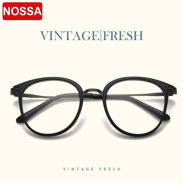 Big Frame Vintage Eyewear Frames Men And Women Excellent Retro ...