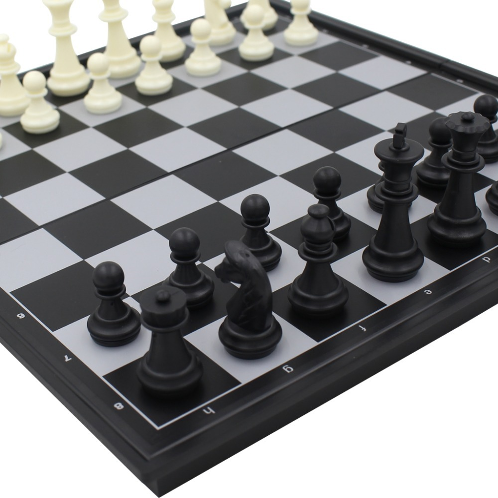 Large size international checkers chess set board game ajedrez pieces magnetic chess game toys 3 - Granite chess pieces ...