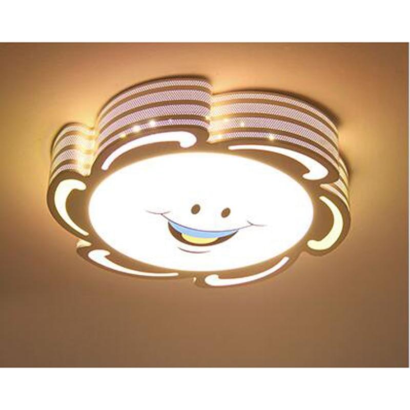 Children lamp childrens bedroom cartoon ceiling Sun Flower Moon rabbit male girl room remote control lamp ET24 LU1020