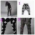 Chico cool girl informal cruz Harem 2016 pantalones largos de color y tamaño elegir libremente 5 unids/lote